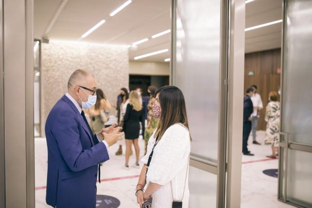 Andrés Rodríguez, editor de Forbes, Daniela Rodríguez, Soy Olivia, Forbes Summit Business Influencers
