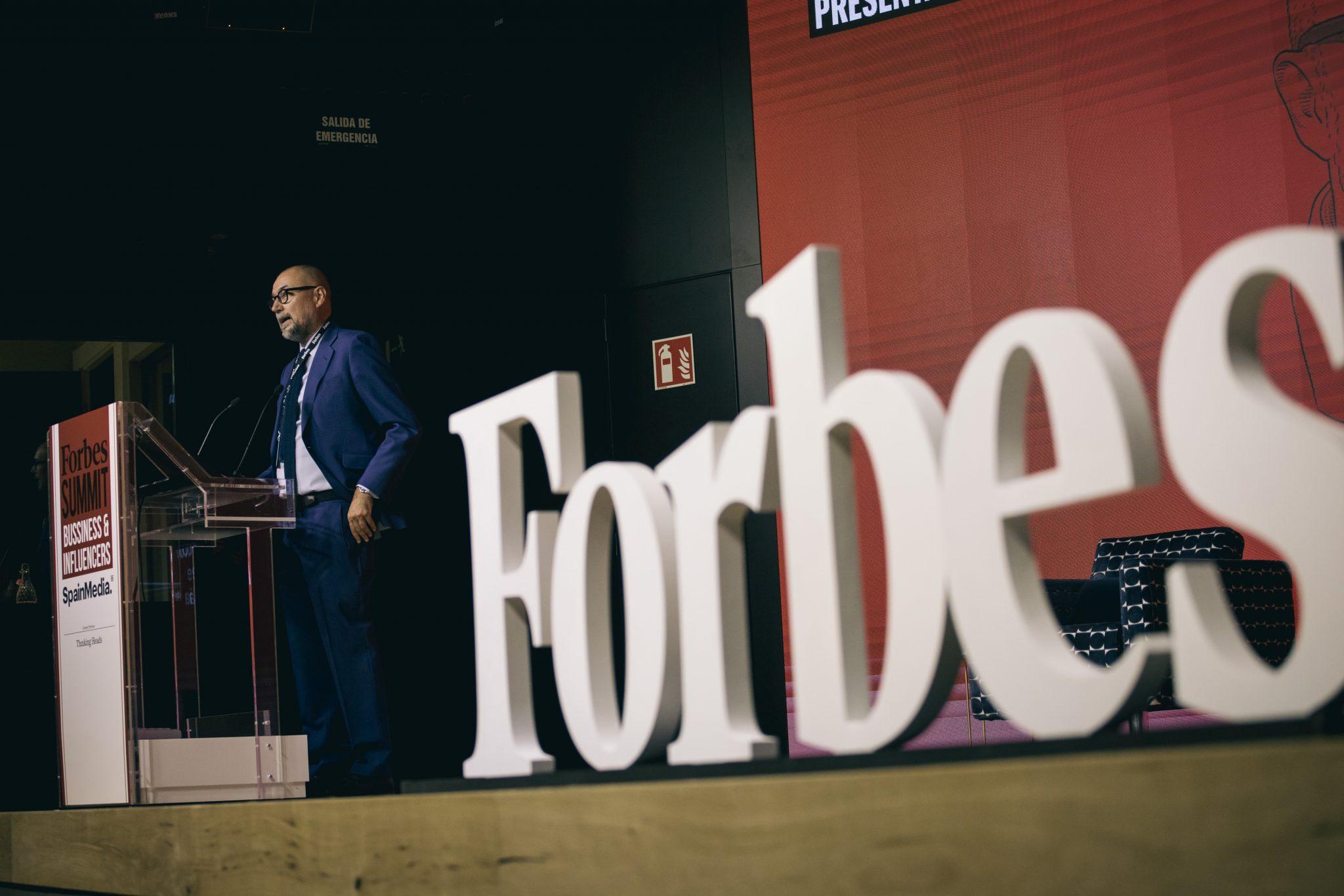 Andrés Rodríguez, editor de Forbes Summit Business Influencers