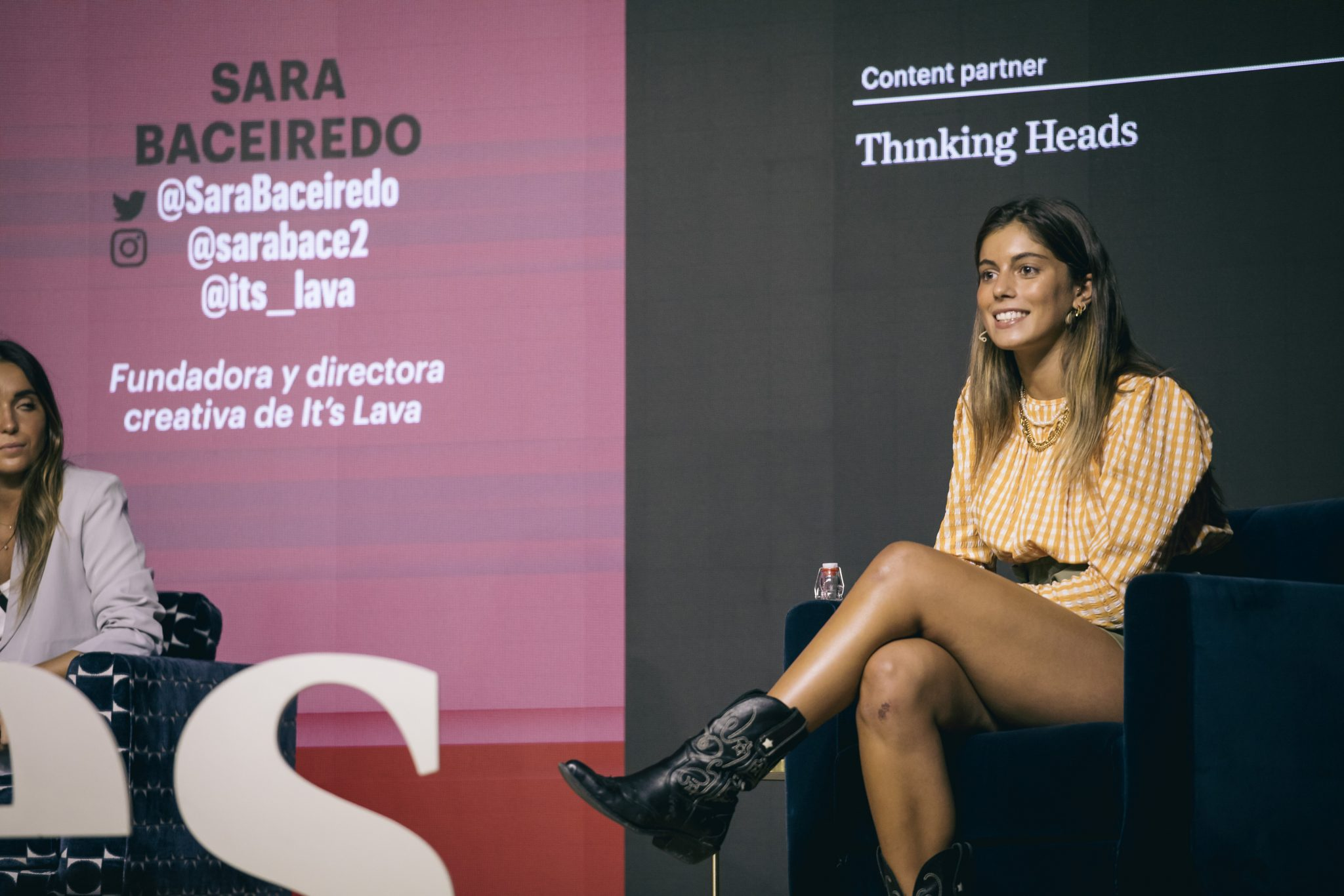 Sara Baceiredo (Lava) Forbes Summit Business Influencers