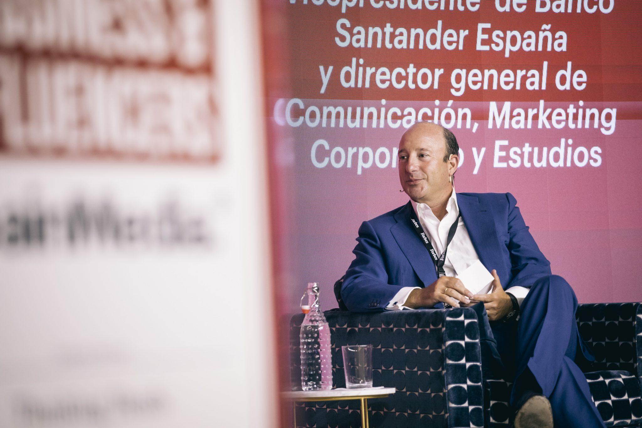 Manuel Cendoya Santander María Pombo, Forbes Summit Business Influencers